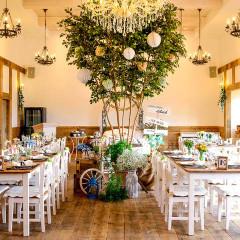 【パーティー会場】ヨーロッパの「小さな村」にあるリストランテをイメージした会場(62名まで着席可能)