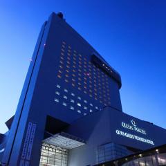 【空と街に包まれたウエディング】大分のランドマークタワーホテルで寛ぎのひと時を