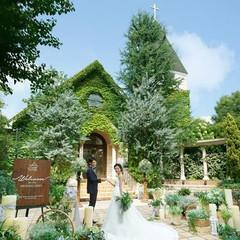 森の中に佇む、独立型教会