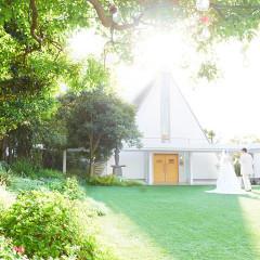 緑溢れる独立型ガーデンチャペル☆