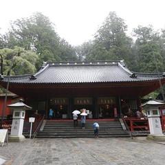日光二荒山神社拝殿