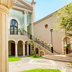 北山ル・アンジェ教会と緑豊かなガーデンでゲストと特別なひとときを。