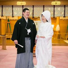大神神社では儀式殿内で撮影できます。神聖な場所で人生の門出を思い出に残されてみてはいかがでしょうか。