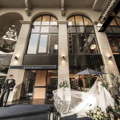 カノビアーノ福岡のモチーフは、イタリア・ミラノの街角。