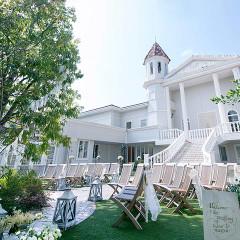 「ヨーピアンスイートフェリーチェ」 約1000坪もの広大な敷地に広がる自然に包まれた白亜の欧風邸宅