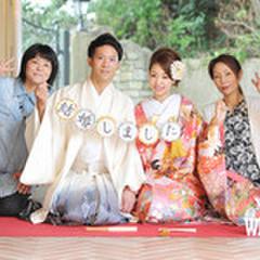 和装ご希望の方も大丈夫!! 家族の温かみある和装写真を残したい方にはオススメ! 披露宴でも多くの和装演出をご用意しております。