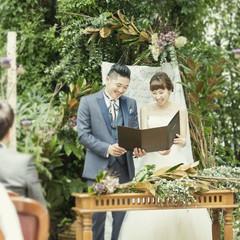「ふたりの想いをカタチにする結婚式が叶う。ふたりの胸の中の希望や想いをプランナーがひとつずつ引き出し、言葉やカタチに変えてくれる。準備さえも楽しい結婚式