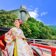 箱根湯本駅より徒歩3分♪ 大自然に囲まれたリゾート地で『心が満たされる』ウエディングをご提案!!