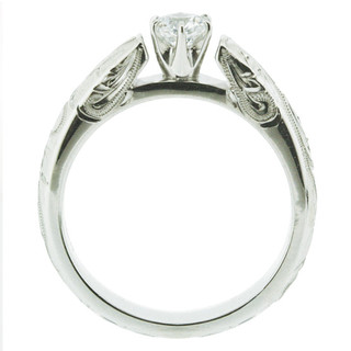 French Mount Ring