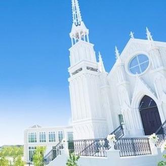 セントクレアヒルズの象徴でもある、大聖堂。 空に一番近い大聖堂で、特別な結婚式が行えます!