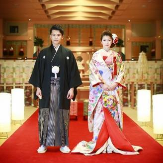 和装をご希望の方は、ホテル内の神殿で本格挙式も. \u201c