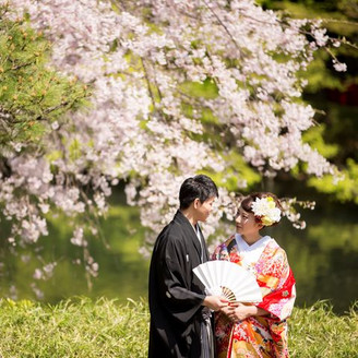 四季折々の表情を見せる日本庭園