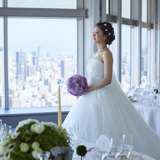 ホテル35階からの景色は、遠方ゲストだけでなく地元ゲストからも歓声のあがる美しさ。