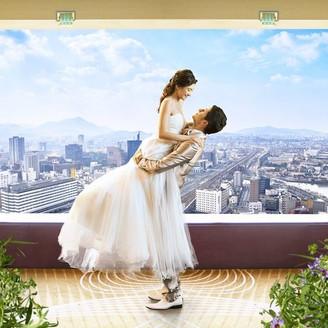 北九州の眺望が舞台となる、ホテル最上階(29階)の「リーガトップ」