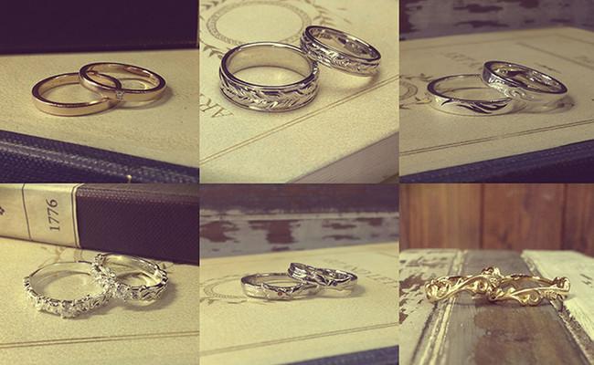 世界で2人だけの指輪が作れる隠れ家的ショップ。