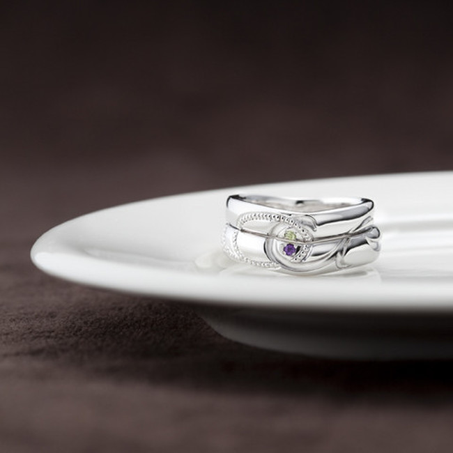 結婚指輪フルオーダー事例