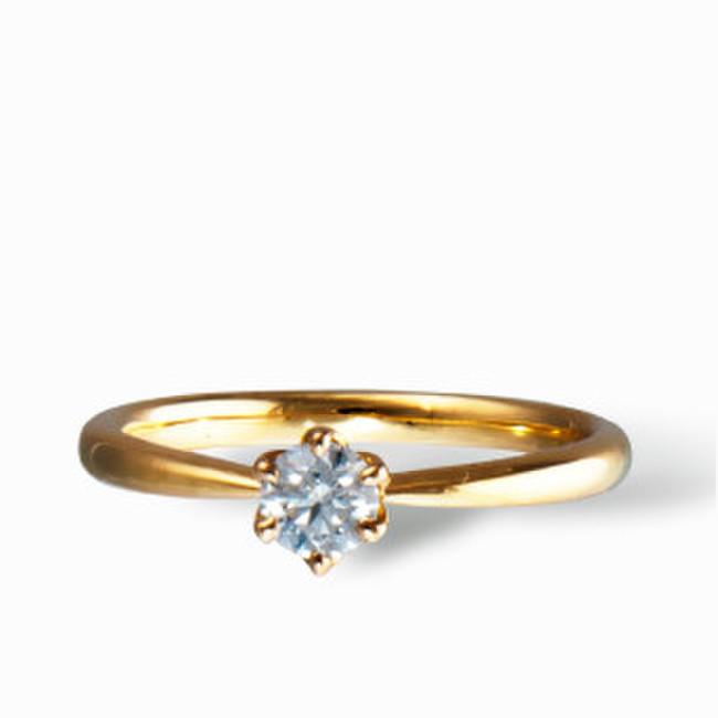 婚約指輪一例
