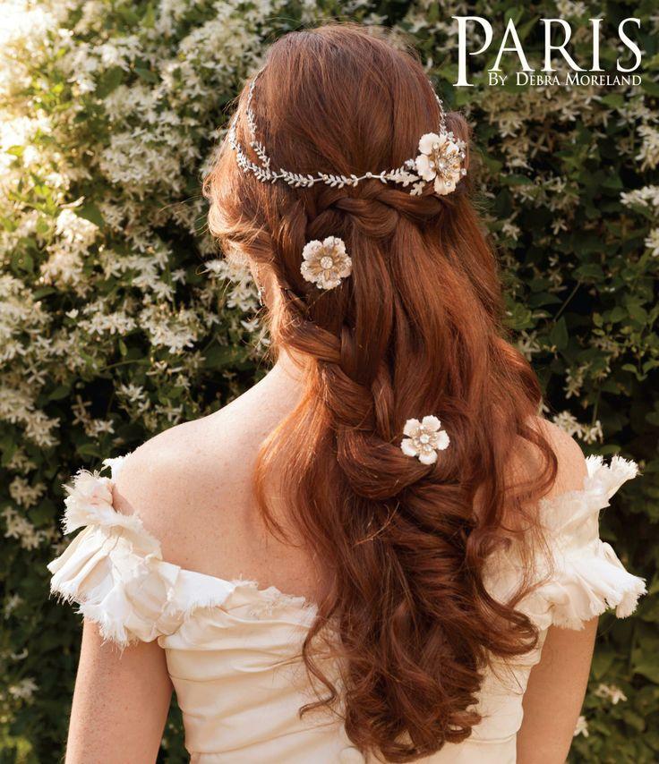 ナチュラル系花嫁さんの髪型 ハーフアップヘアアレンジまとめ