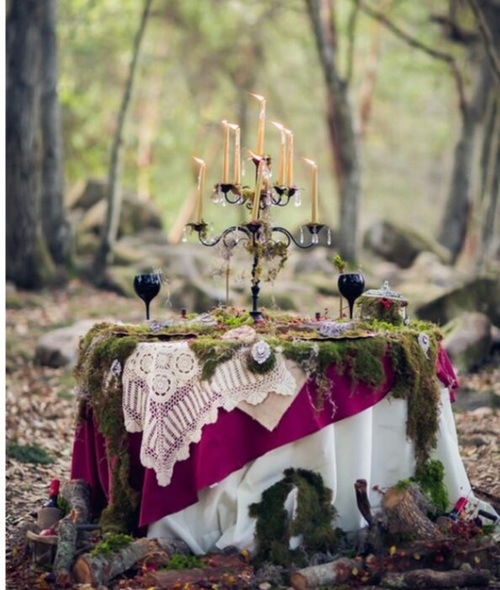 40e355d805fe3 気分は森の妖精♪ロマンティックなフォレストウェディングが可愛すぎる ...