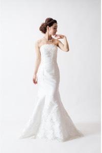 マーメイドラインのウェディングドレスを探す