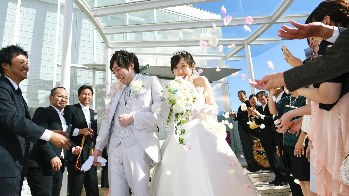「パステルピンク×ホワイト」大好きなうさまるでかわいい結婚式