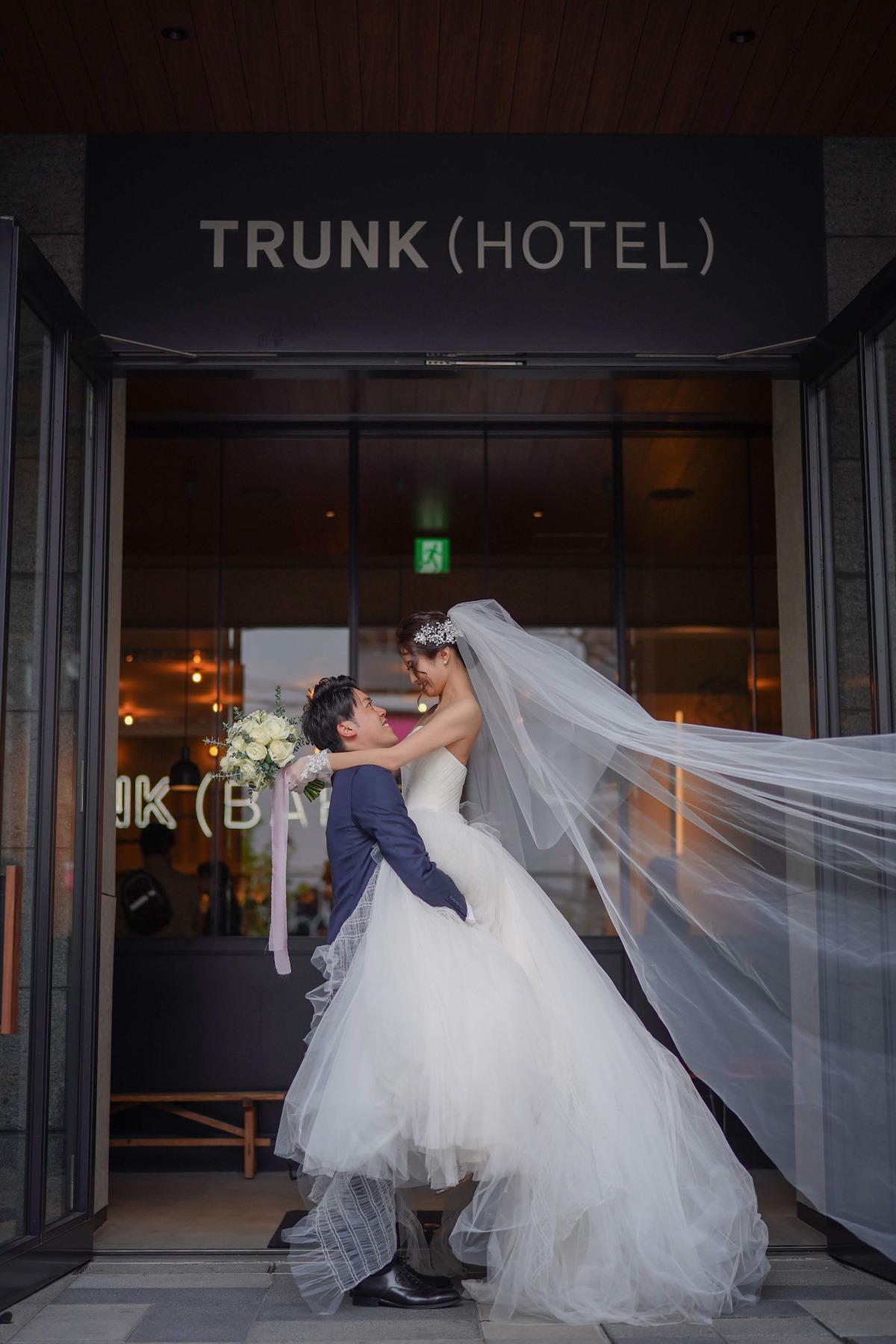 特別な日の思い出を形に*憧れのTRUNK HOTELで叶える結婚式♪