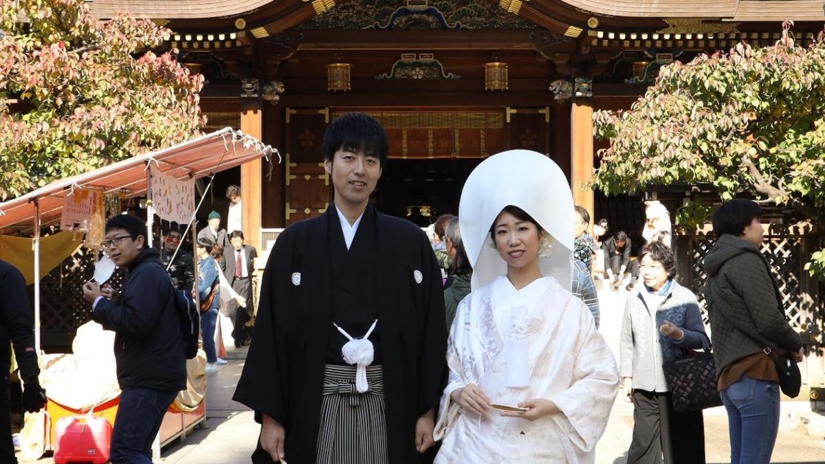 夢が叶うとき…白無垢と紋付袴姿でむかえる花嫁憧れの神社挙式