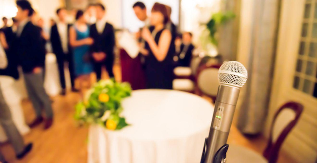 結婚式披露宴のスピーチ&挨拶<祝辞・謝辞>文例や禁句の