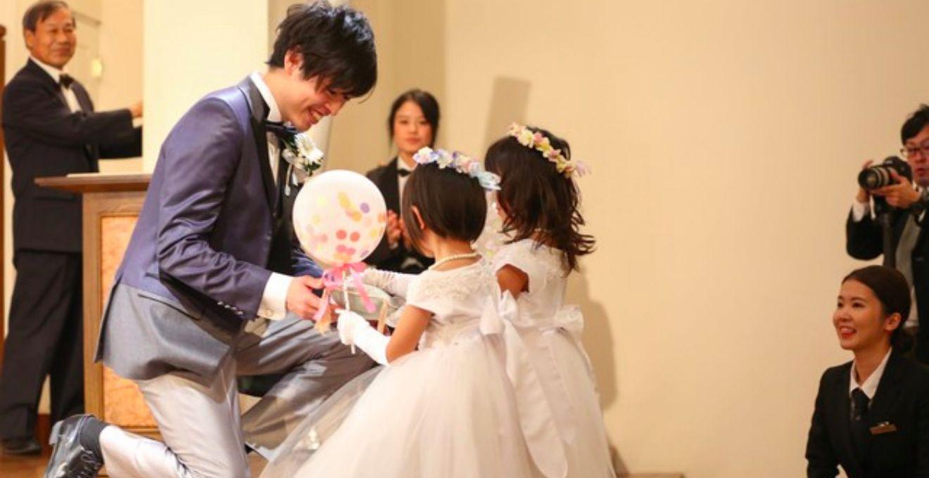 【花嫁QA】子どものゲストがいたらやっぱり演出って頼むべき!?
