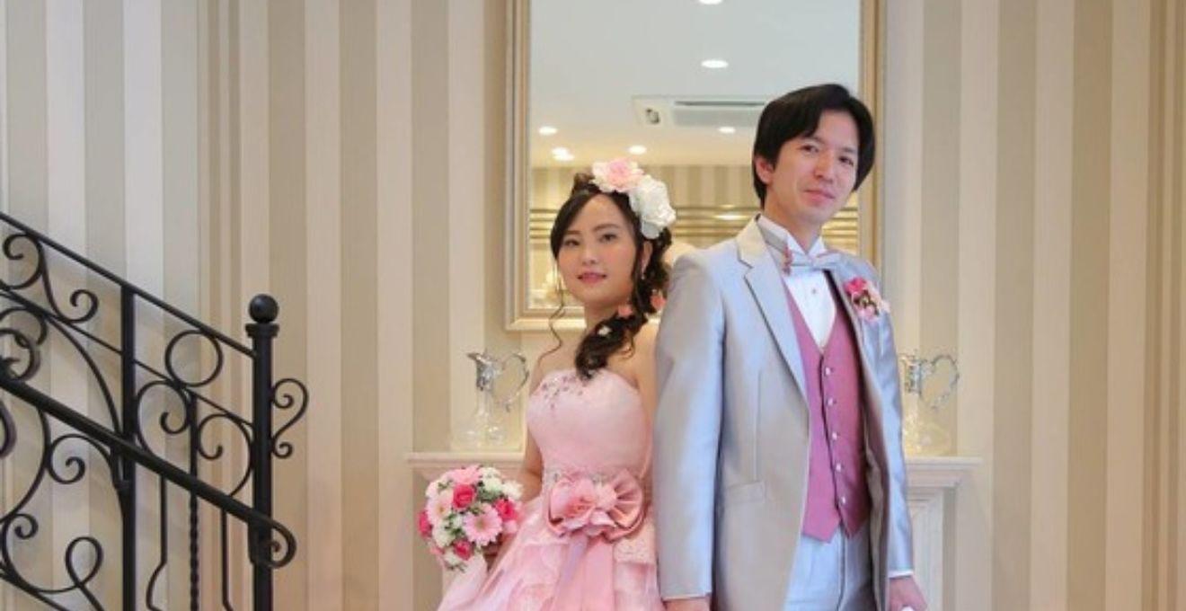 47beb9c55c3fd キュートなピンクで春を先取り!佐々木希のカラードレスで過ごした ...