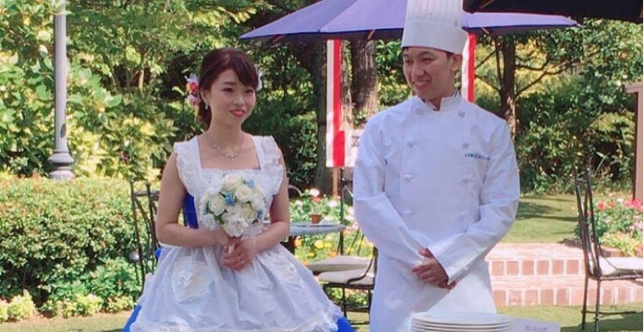 150センチの小柄な花嫁さんのカラードレス試着レポート!