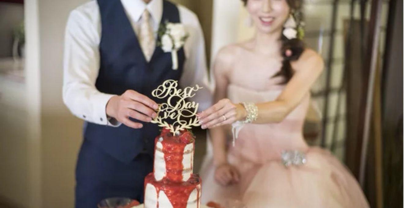 ウェディングケーキをランランク上げる《ケーキトッパー》はどれにする?