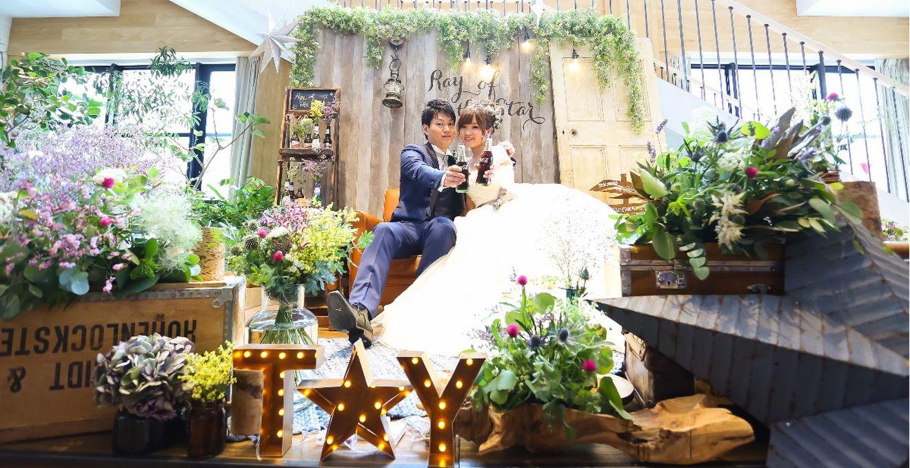 「インスタイルウェディング京都」でふたりらしさに溢れたカジュアルなパーティー♪