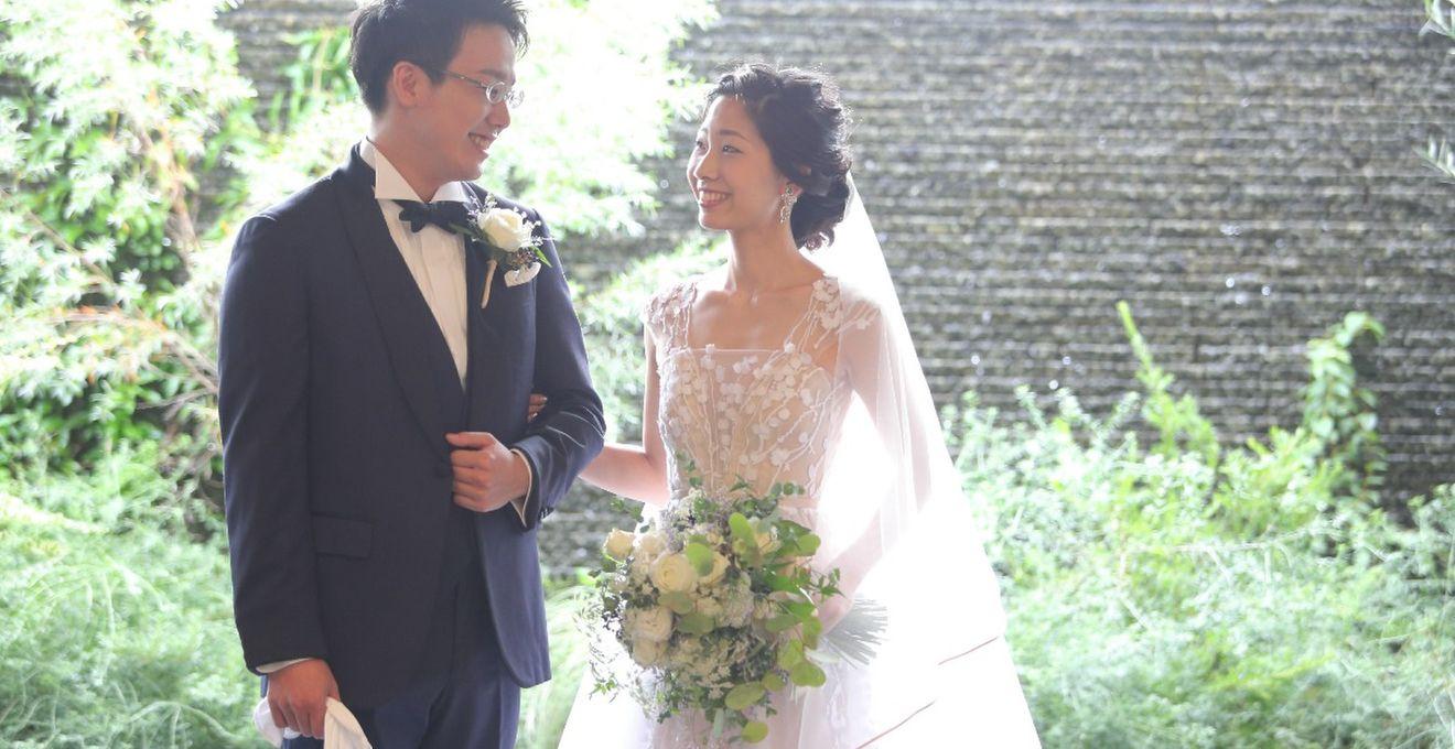【結婚式拝見】ゲストみんなと作り上げたアットホームなナチュラルウェディング