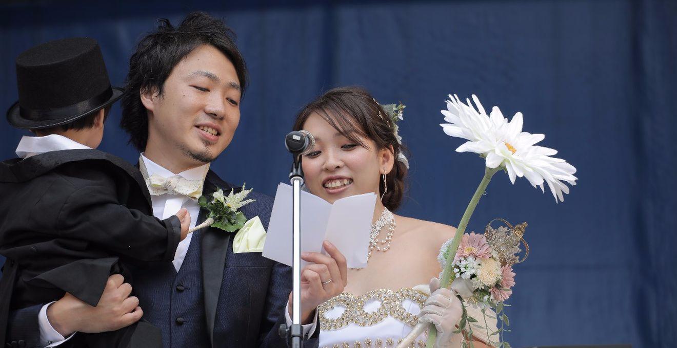史上初、池袋の「ふくろ祭り」で人前式!大好きなセーラームーンに変身した花嫁に注目♪