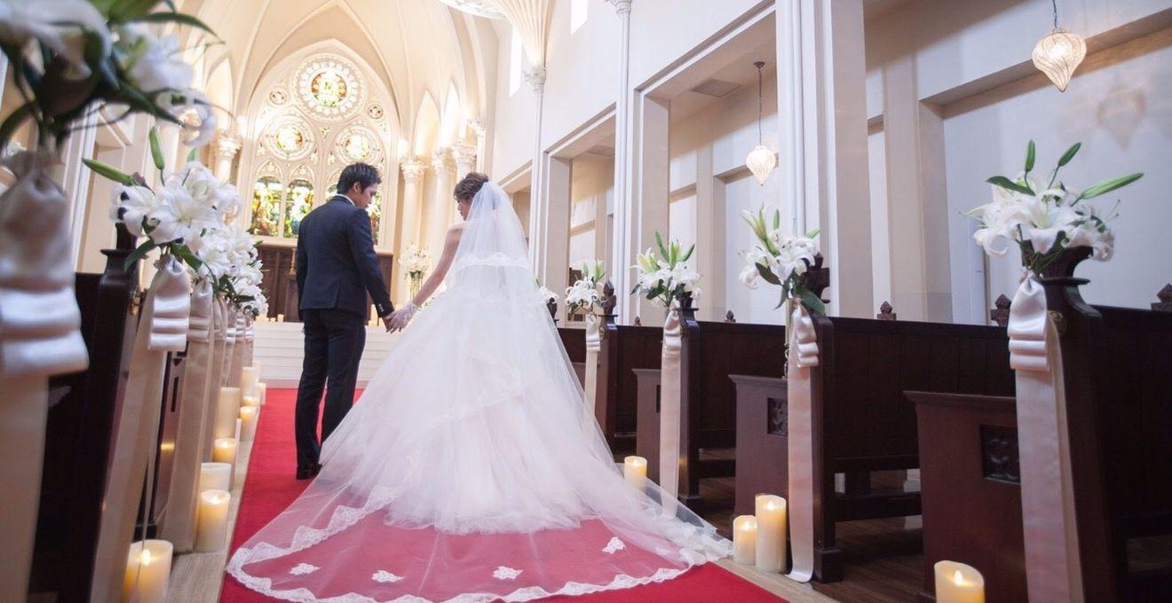 結婚式拝見】「セントグレース大...