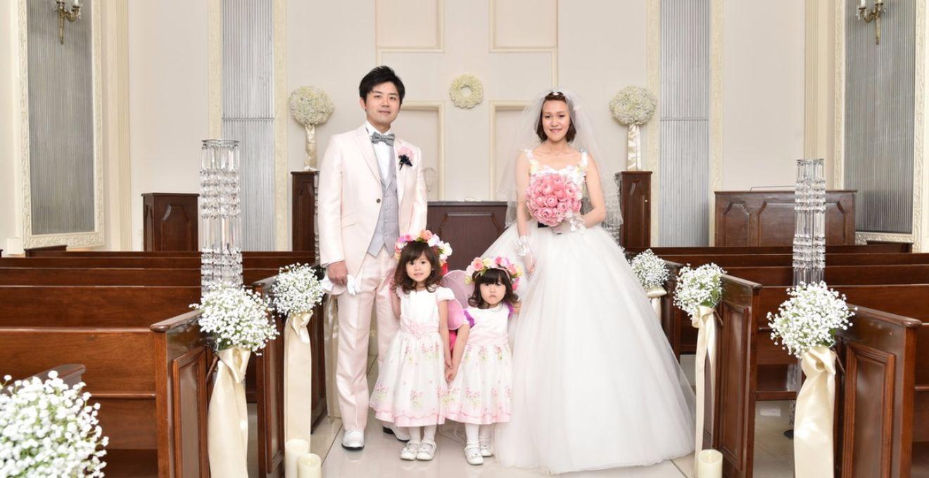 【結婚式拝見】シンデレラの夢がつまったファミリー婚ウェディング♪