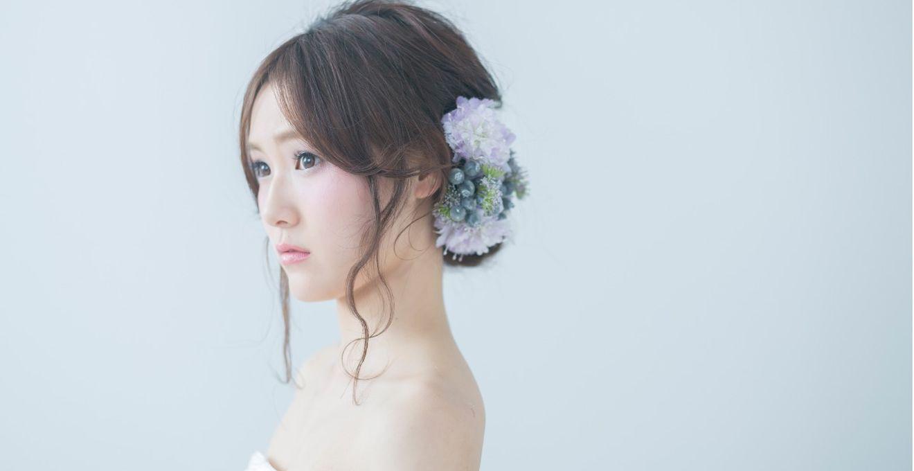 結婚式の花嫁髪型<2018年最新版>ヘアスタイル別アレンジ画像