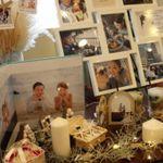 先輩花嫁に学ぶ!ウェルカムスペースに《写真をたくさん飾る方法》*