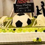新郎も一緒に考えられる!《スポーツ》がテーマのユニークなウェディングケーキをご紹介♪
