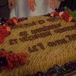 秋冬のウェディングケーキにいかが?大きな《モンブラン》デザインがほっこりかわいい*