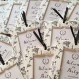 地図、ふせん、依頼状! 結婚式の招待状に同封するリスト