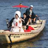 貴重な「花嫁舟」が叶う!「柴又和婚」で伝統的なお嫁入り
