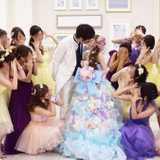 テーマは「Fairytale」*プリンセスな装飾&運命のカラードレスをご紹介