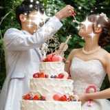 英国で使用されていたステンドグラスの大聖堂とガーデンで過ごす結婚式*