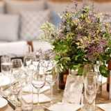 7パターンのテーブル装花とこだわりのアイテムで*思わず写真を撮りたくなる会場装飾