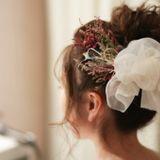 【お色直し髪形】結婚式披露宴のカラードレス、和装のヘアチェンジはどうする?