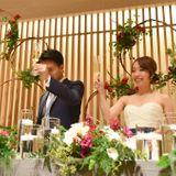 小柄な花嫁さん必見!こだわりのドレス&装花で叶えたラグジュアリーウェディング