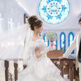 【結婚式拝見】夢と魔法の世界を再現したカラフルウェディング♪