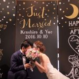 【結婚式拝見】ふたりの名前から取った「月と星」がテーマのコンセプチュアルウェディング!